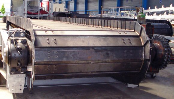 Apron Feeder metal belt conveyor