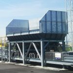 bunker used at coal terminal for transshipment