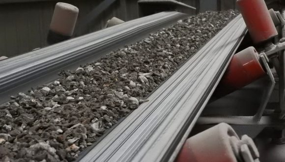 belt conveyor bottom ash transport