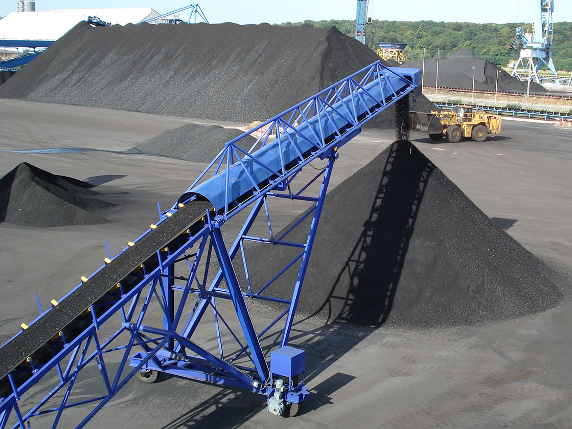 belt conveyor coal handling