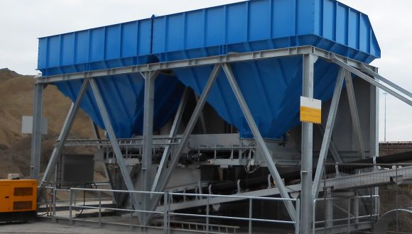 bunker dry bulk material