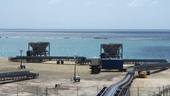 mobile bunker port handling