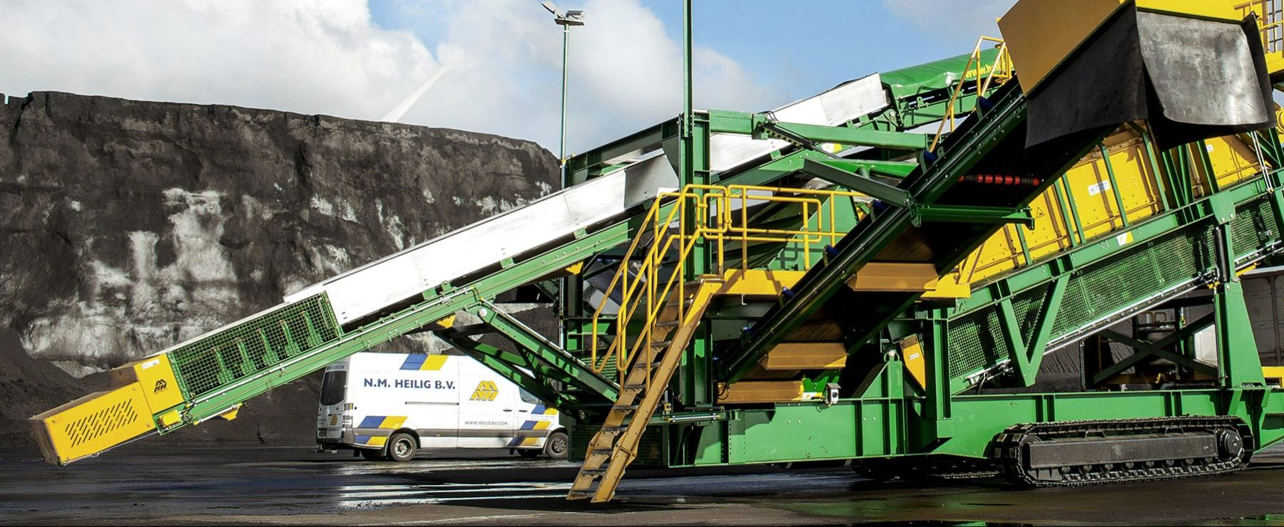 Belt Conveyor Benefits For Recycling And Bulk Handling