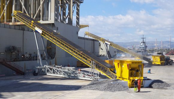 customized mobile loader granite