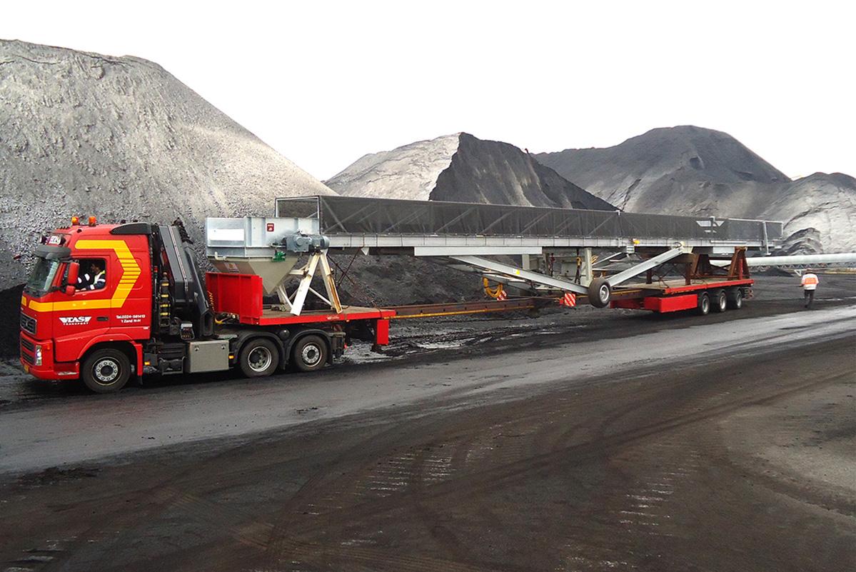 mobile loader transport