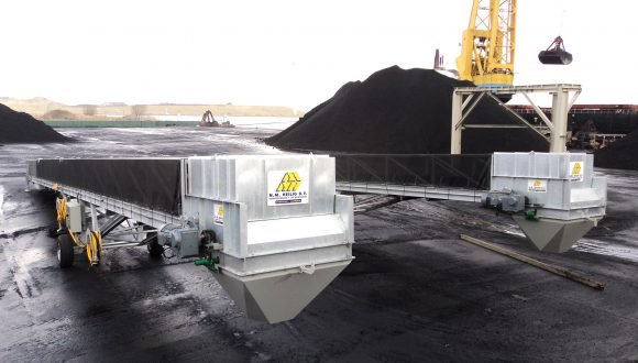 mobile loaders assembled on-site installation