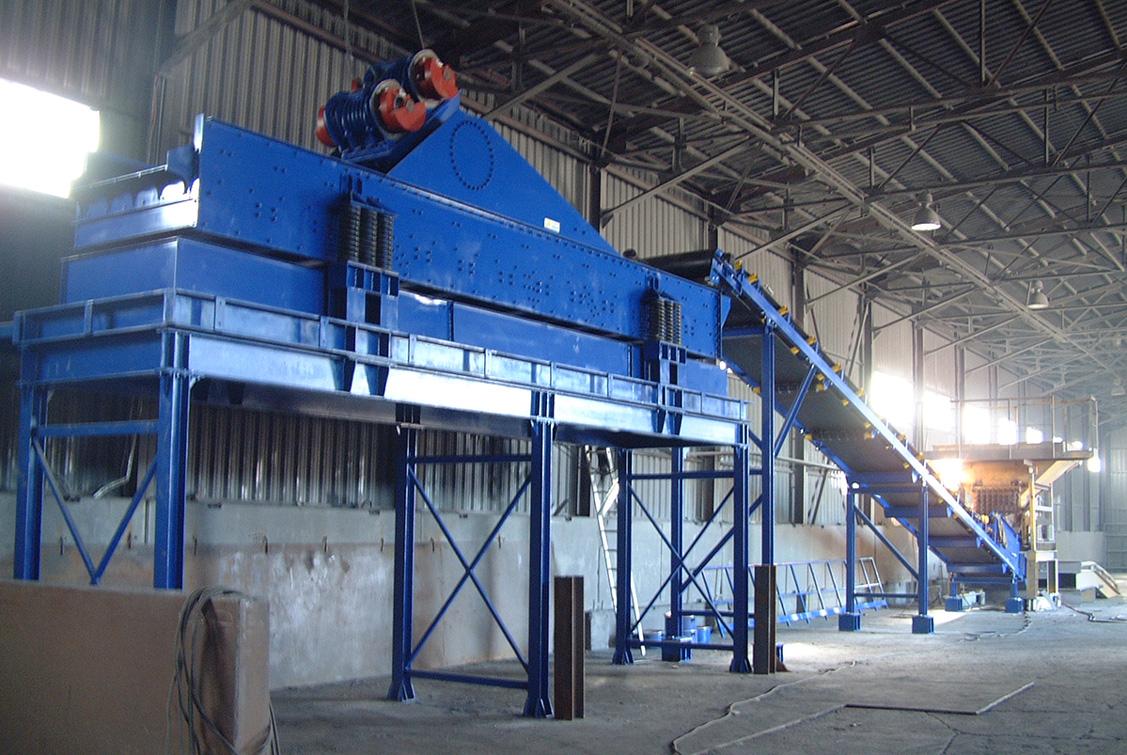 Siebmaschine-Ferrolegierung