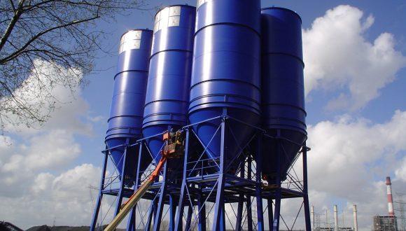silo opslag steenkool