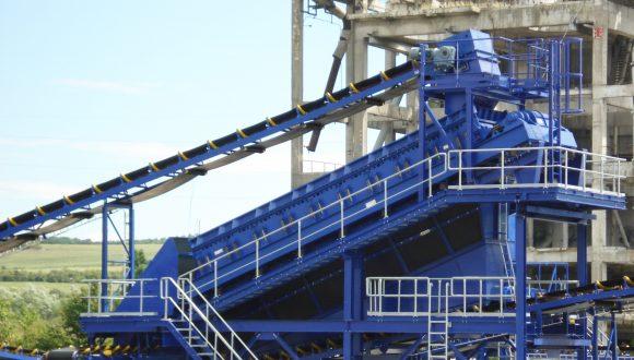 steenkool zeefinstallatie