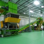 Debaler PET recycling