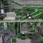 PET recycling machinery
