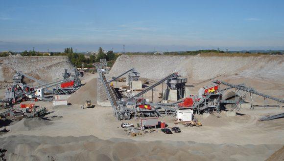 bottom ash (IBA) recycling plant