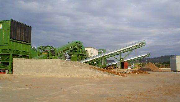 bulk waste processing machinery