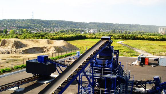 Steenkool breek en zeef machines