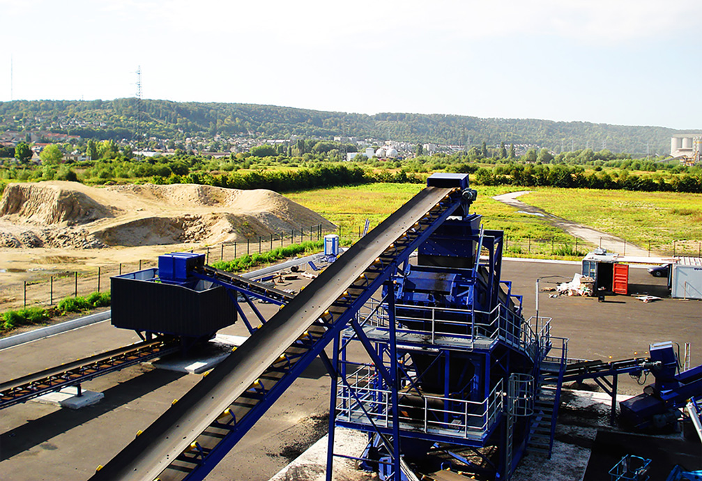 coal grading turnkey installation