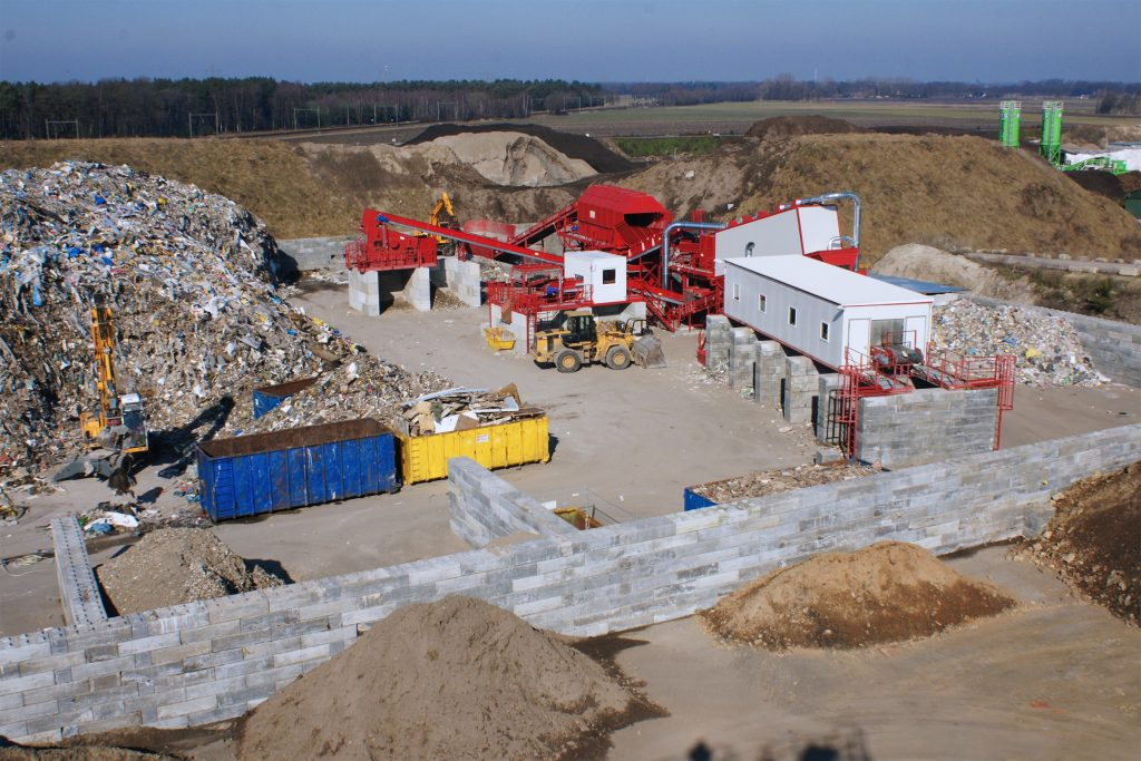 Construction And Demolition Waste Recycling Machines N M