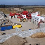 construction and demolition waste separation equipment