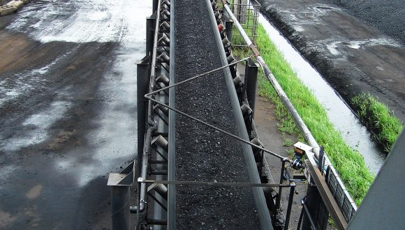 Coal transshipment conveyors for terminal expansion
