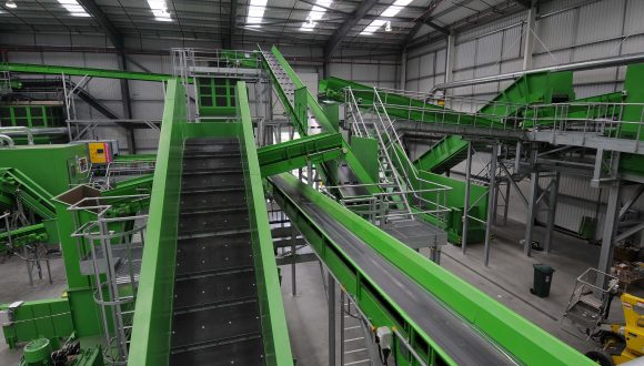 conveying systems recycling line