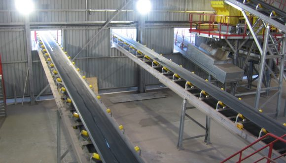 discharge conveyor bottom ash