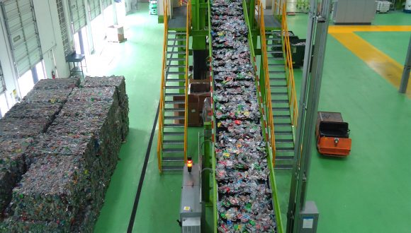 Recycling Machine plastic afval