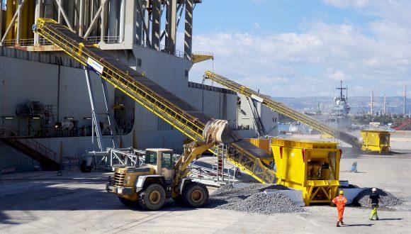 granite bulk handling