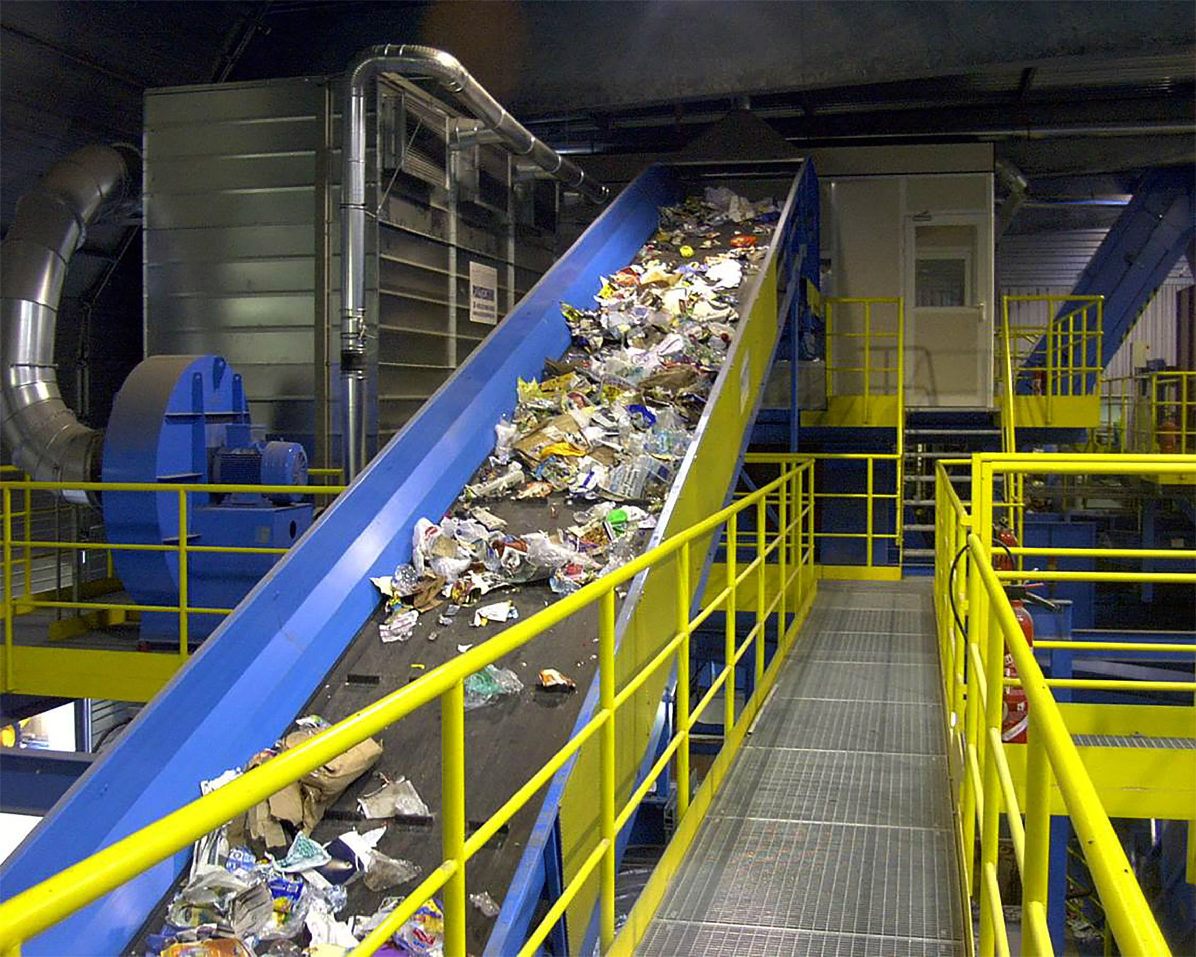 mixed waste recycling machinery