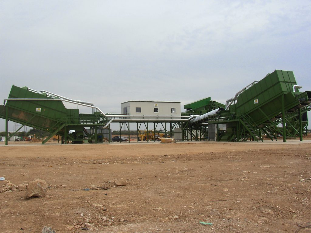 Construction And Demolition Waste Recycling Plant N M