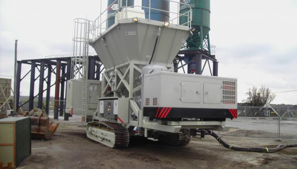 mobile Fly Ash injection system
