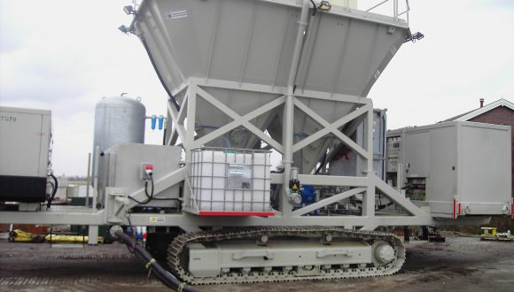 mobile soil stabilization system