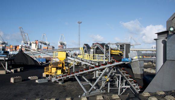 mobile telescopic stacker conveyors