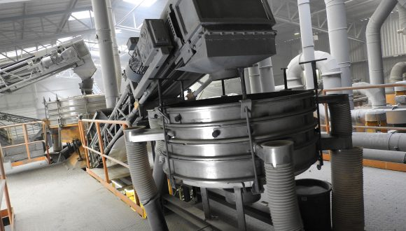 recovery of non-ferrous metals equipment