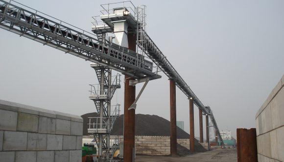 sand and gravel bulk handling