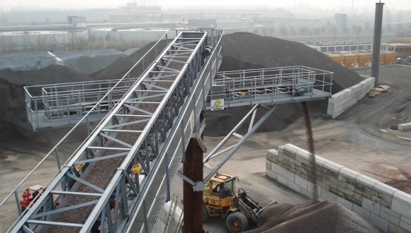 conveyor sand and gravel