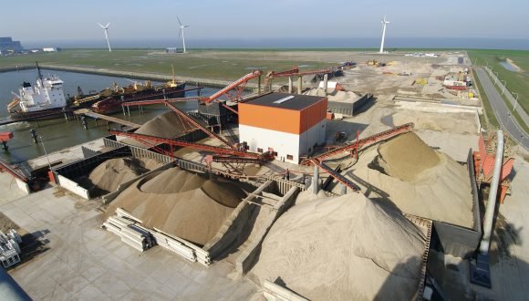 Sand and gravel processing equipment