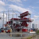 sand and gravel bulk handling installation
