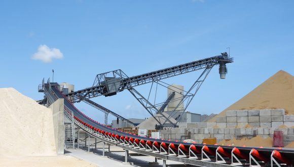 sand and gravel bulk handling equipment