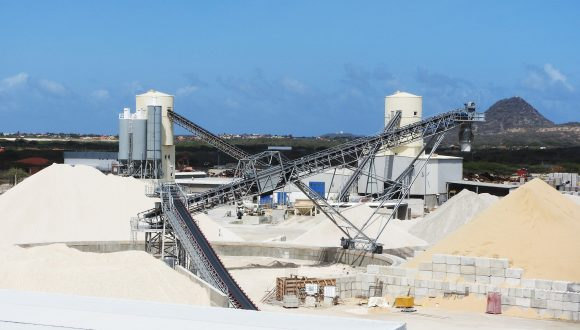 sand and gravel processing machinery