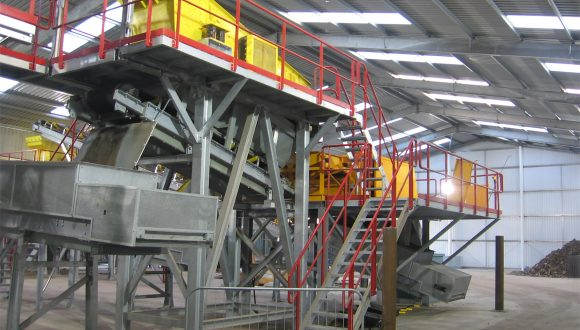 screening equipment incinerator slag