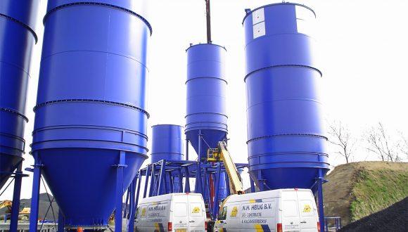 silos for coal storage