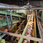 single stream recycling plant