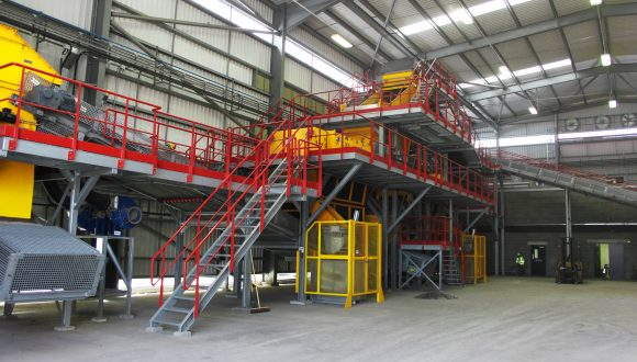 slag recycling machinery