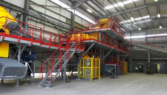 slag recycling machinery