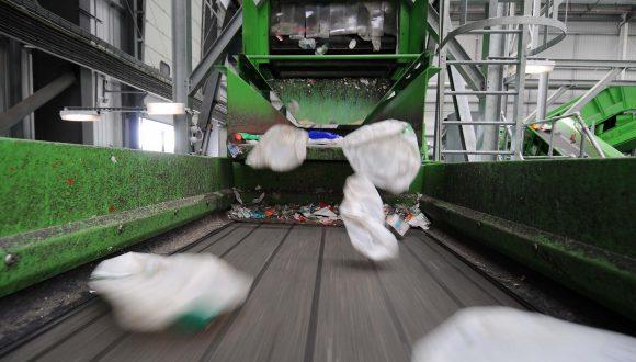 sorting plastic waste equipment