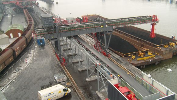 shiploader coal terminal