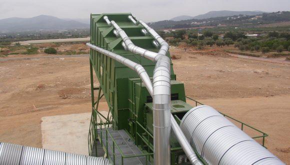 waste air separator