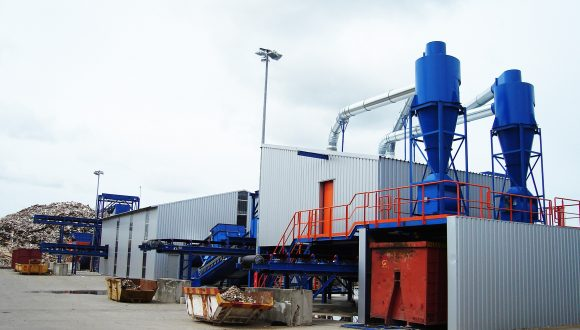 wood waste recycling plant