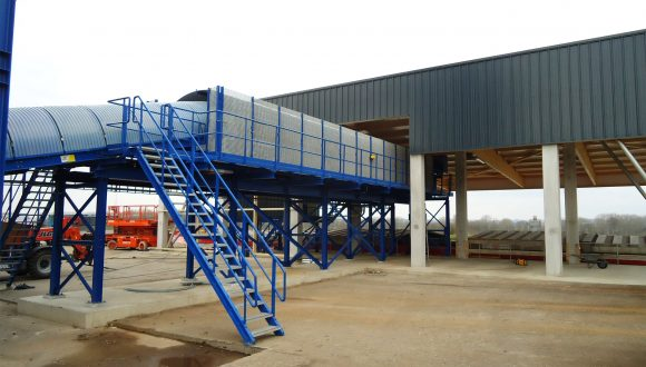 belt conveyor ship loader