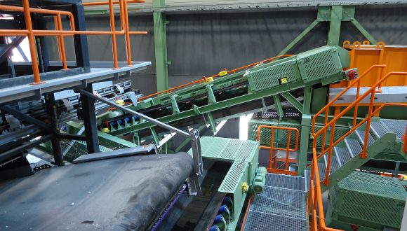 bottom ash incinerator slag recycling facility