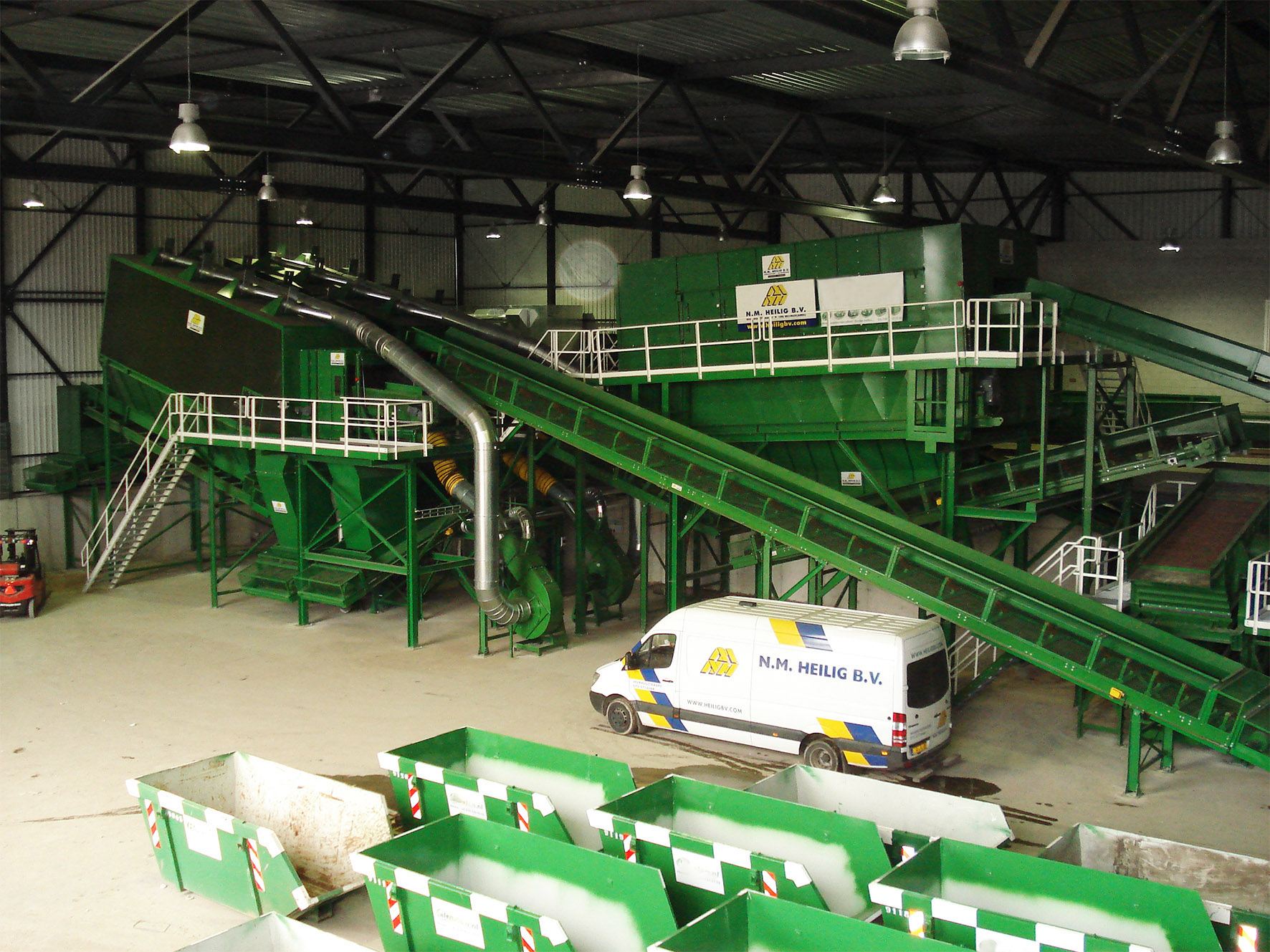 Construction and Demolition waste sorting installation